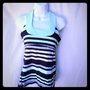 lululemon sportswear ( navy with strips )
